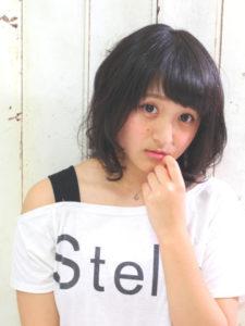 ピュアブラック×カジュアルボブ【aL-ter LieN】