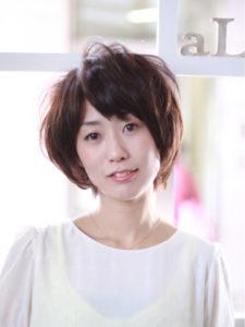 暗髪×ふんわり丸いショートヘア☆【Rire尚平】